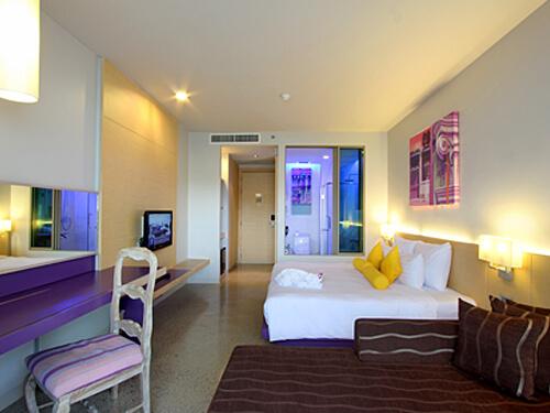 プーケットのホテルの客室例