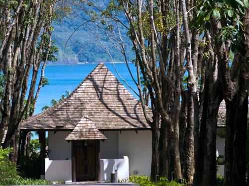 リゾートからのアンダマン海への眺望
